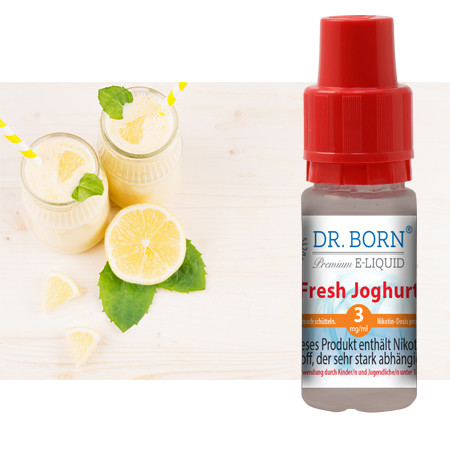 Fresh Joghurt 10ml 3mg/ml