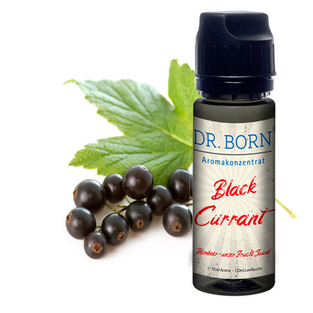 Aroma Konzentrat Black Currant 10ml/in 120ml Leerflasche