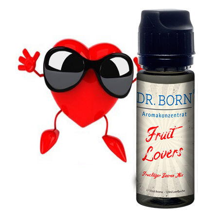Aroma Konzentrat Fruit Lovers 10ml/in 120ml Leerflasche