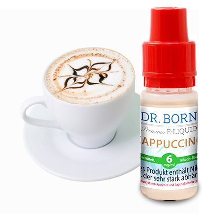 Cappuccino 10ml 6 mg/ml