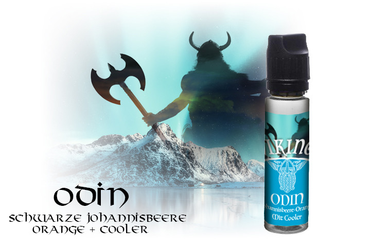60ml Odin incl. 10ml 20mg/ml=3,3mg/ml Nikotin